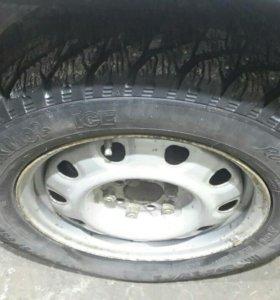 Продам колеса зимние r15