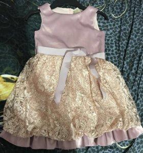 Платье нарядное, 122