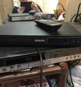Видеопроигрыватель DVD Philips DVP3310K