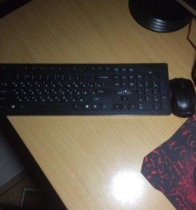 Продам мышку и клавиатуру без проворную