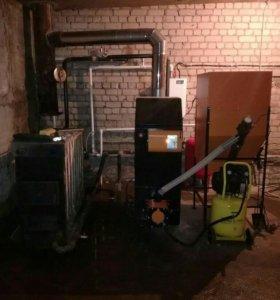 Монтаж отопления, водоснабжения,тёплые полы