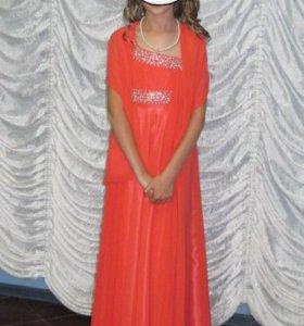 Платье вечернее для девочки 7_10лет