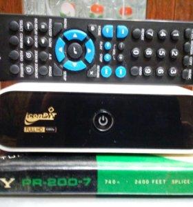 Сетевой медиа проигрыватель. ICONBIT HDS - 7L
