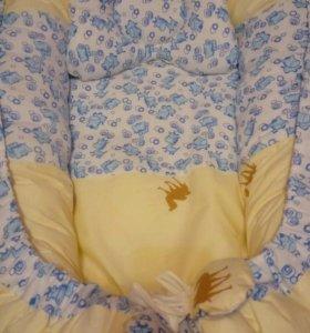 Кокон гнездышко для младенца.