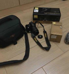 Nikon D3000 комплект
