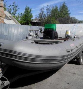 Лодка Посейдон 520 + прицеп
