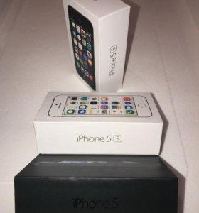 Новые iPhone 5/5s оригинал магазин