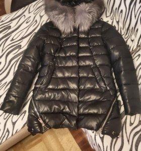 Куртка зимняя эко-кожа