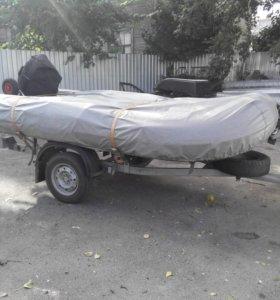Лодка пвх 350 + мотор + прицеп
