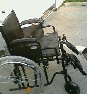 Инвалидная коляска для крупных
