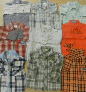 Рубашки детские на мальчика