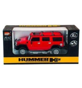 Машинка на пульте управления HUMMER H2 1:24
