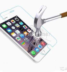 iPhone бронь стекло 4s/5/5s/6/6+/6s/6s+/7/7+/8/8+