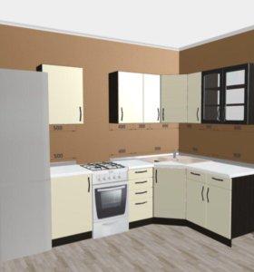 Угловой Кухонный гарнитур, кухня