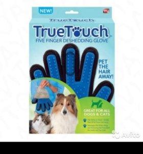 Перчатки для вычесывания шерсти домашних животных
