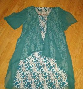 Нарядное платье 56