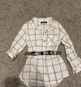 Новая рубашка 104р