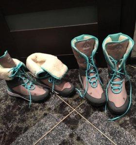 Новые классные зимние ботинки угги