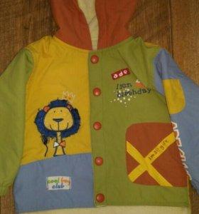 Курточка для мальчика, размер 86-92