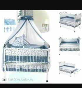Детская кроватка Geoby