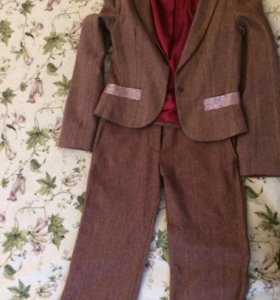 Пиджак и укороченные брюки Султана Французова