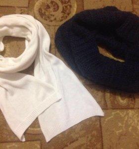 Снуд+шарф