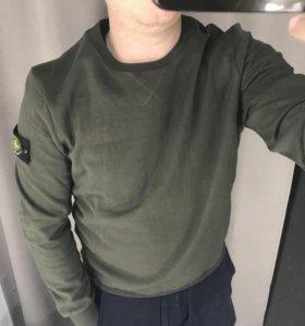 Продам модный Свитшот Stone Island зеленый