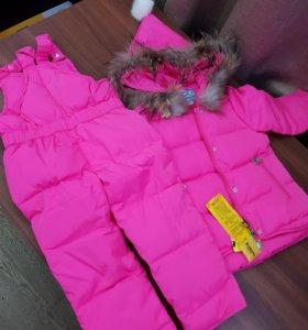 Костюм зимний Комбинезон и куртка на рост 80 см