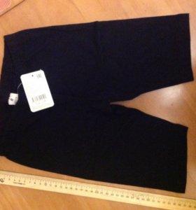 Новые шорты чёрные рост 140