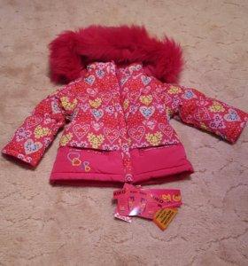 Зимний костюм Кико (Kiko) новый, 86+6