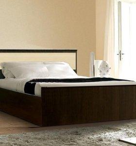 Кровать 90 с матрасом 18см.