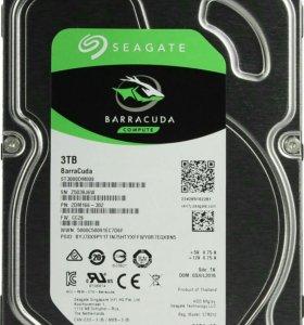 Новый Seagate Barracuda 3Tb