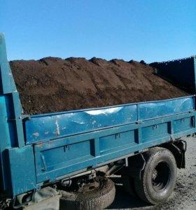Щебень гравий песок навоз перегной земля