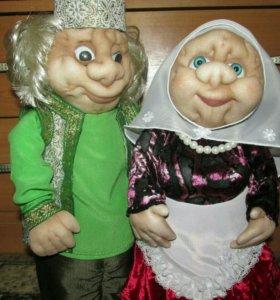 Интерьерные куклы.