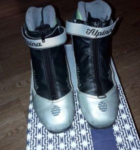 Ботинки беговые лыжные