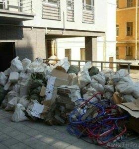 Вывоз строительного мусора газель пухто