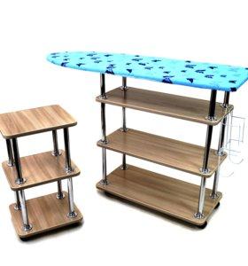 Гладильный столик с дополнительной приставкой