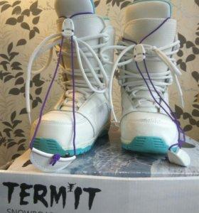 Сноуборд-ботинки женские