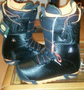 Ботинки для сноуборда новые
