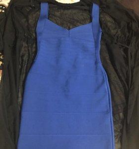 Яркое платье(Бандажное)