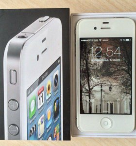 iPhone 4 8 Gb White