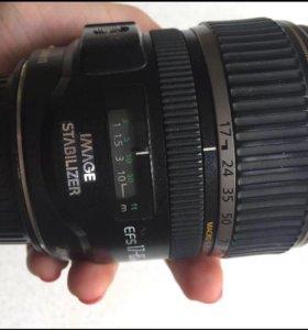 объектив Canon 17-85