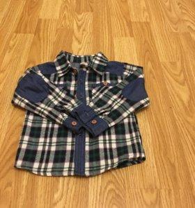 Детская фланелевая рубашка