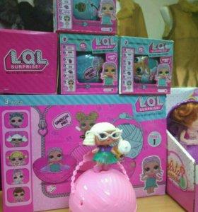 Кукла Lol/lol/Лол в шарах