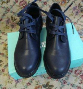 Туфли экокожа новые