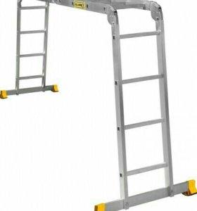 Лестница 4х4 алюминиевая СИБРТЕХ