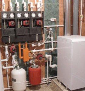 Установка и замена газовых котлов