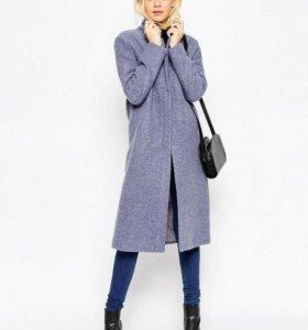 Шерстяное пальто новое