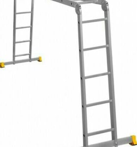 Лестница 4х5 алюминиевая СИБРТЕХ
