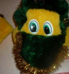 Новогодний костюм дракоша на 2-3годп